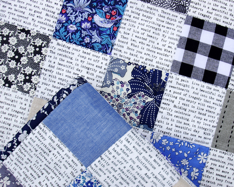 Liberty Tana Lawn - Blues Quilt | © Red Pepper Quilts 2016