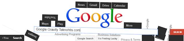 Gravitasi Google