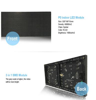 Đơn vị cung cấp màn hình led p5 module led giá rẻ tại Bình Định