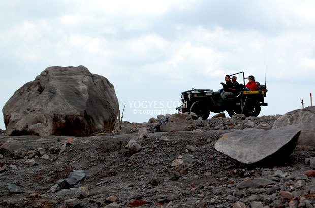 Off Road Lava Tour Merapi bersama Madani Outbond