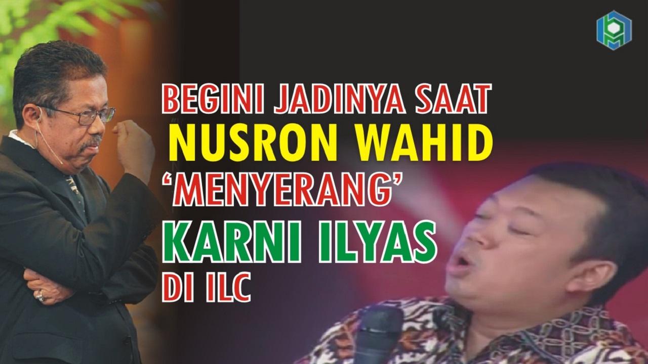 Nusron Wahid vs Karni Ilyas