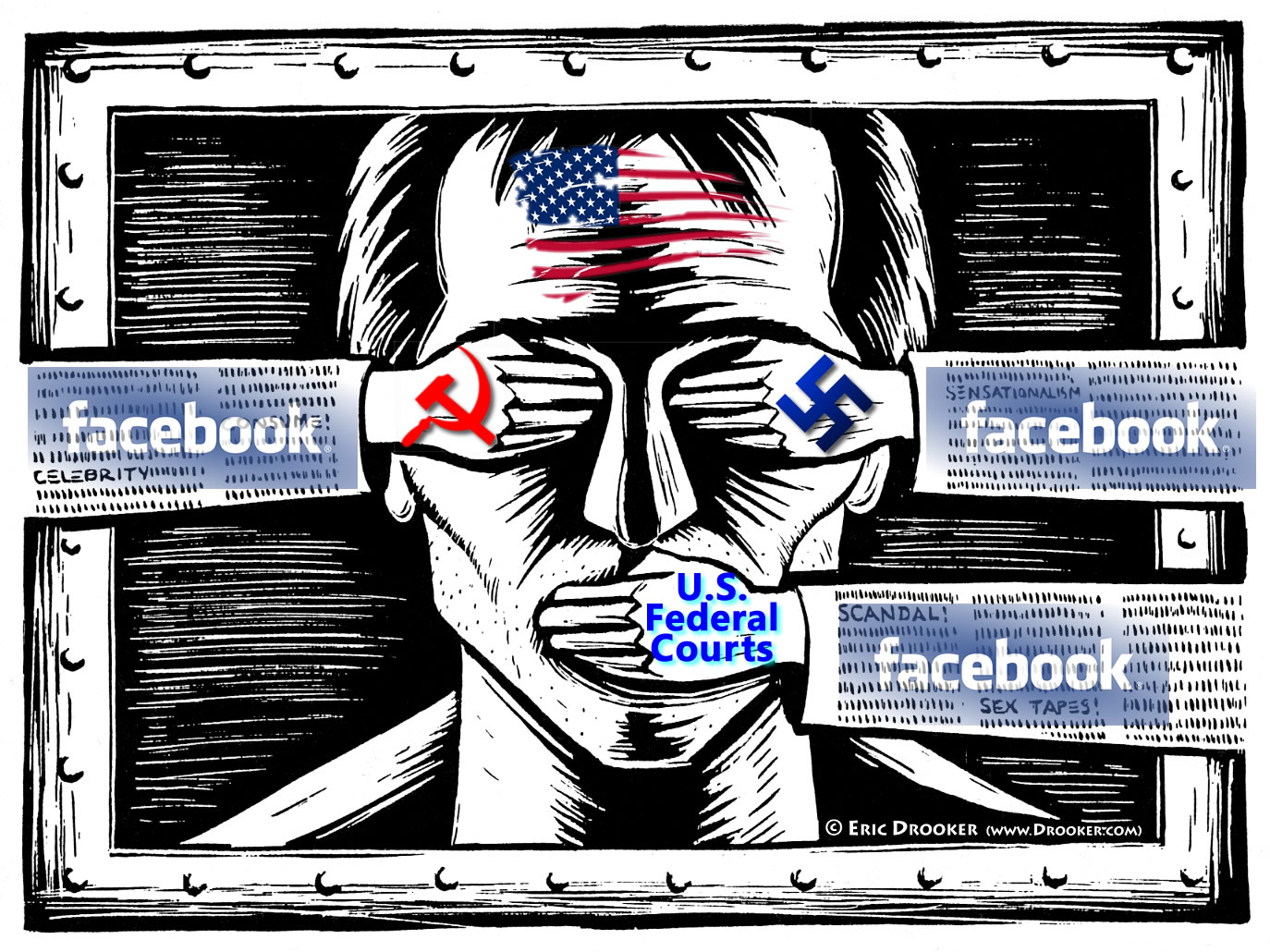 Reports of Facebook censorship of Leader v. Facebook judicial corruption scandal reporting
