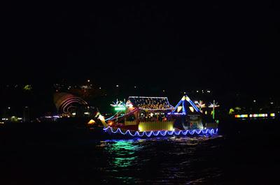 kemeriahan festival bahari kepri 2017