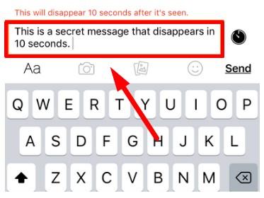 secret messages on facebook messenger