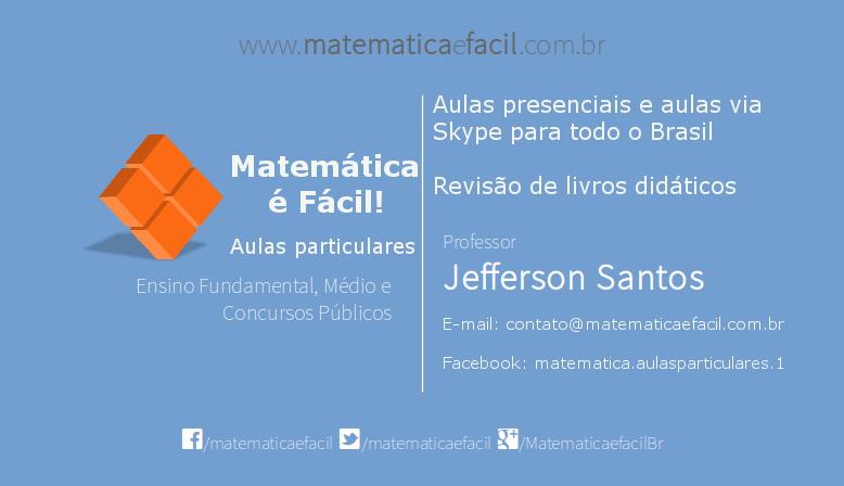 10 questões de Matemática resolvidas para Concursos Públicos