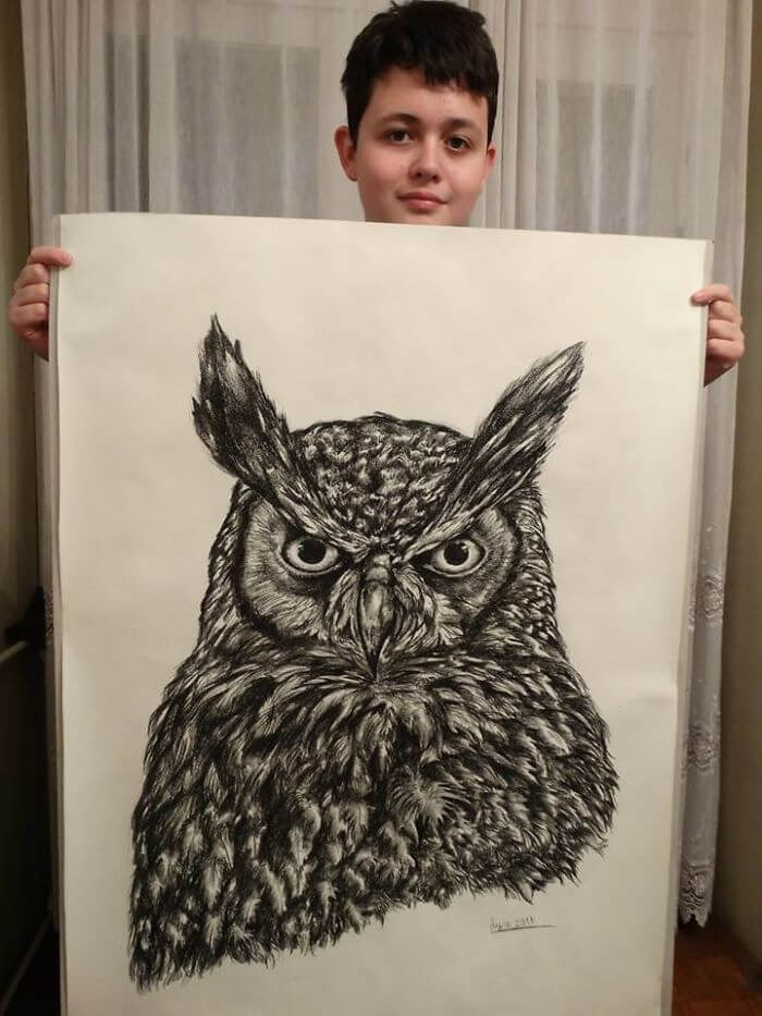 02-Owl-Dušan-Krtolica-No-Reference-Drawings-come-from-Memory-www-designstack-co