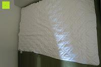 im Bett: MELIANDA MA-11010 Microfaser Wildseide Sommersteppbett 135x200 cm kochfest / trocknergeeignet ideal für warme und heiße Sommernächte