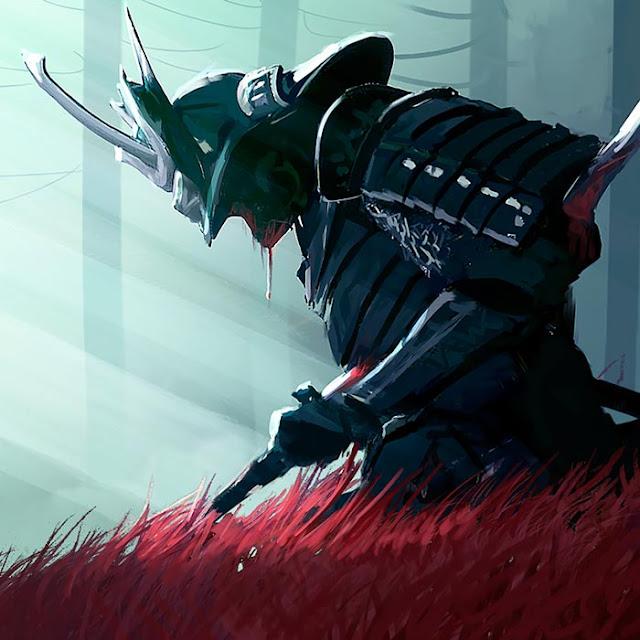 Samurai In The Woods Wallpaper Engine