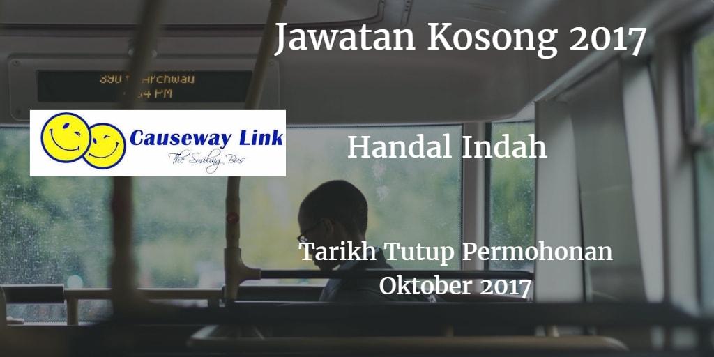 Jawatan Kosong Handal Indah Oktober 2017