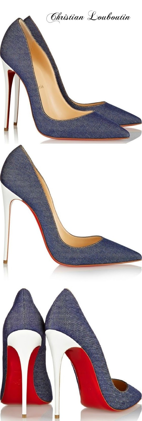 Sapatos de ganga Christian Louboutin - Denim Shoes