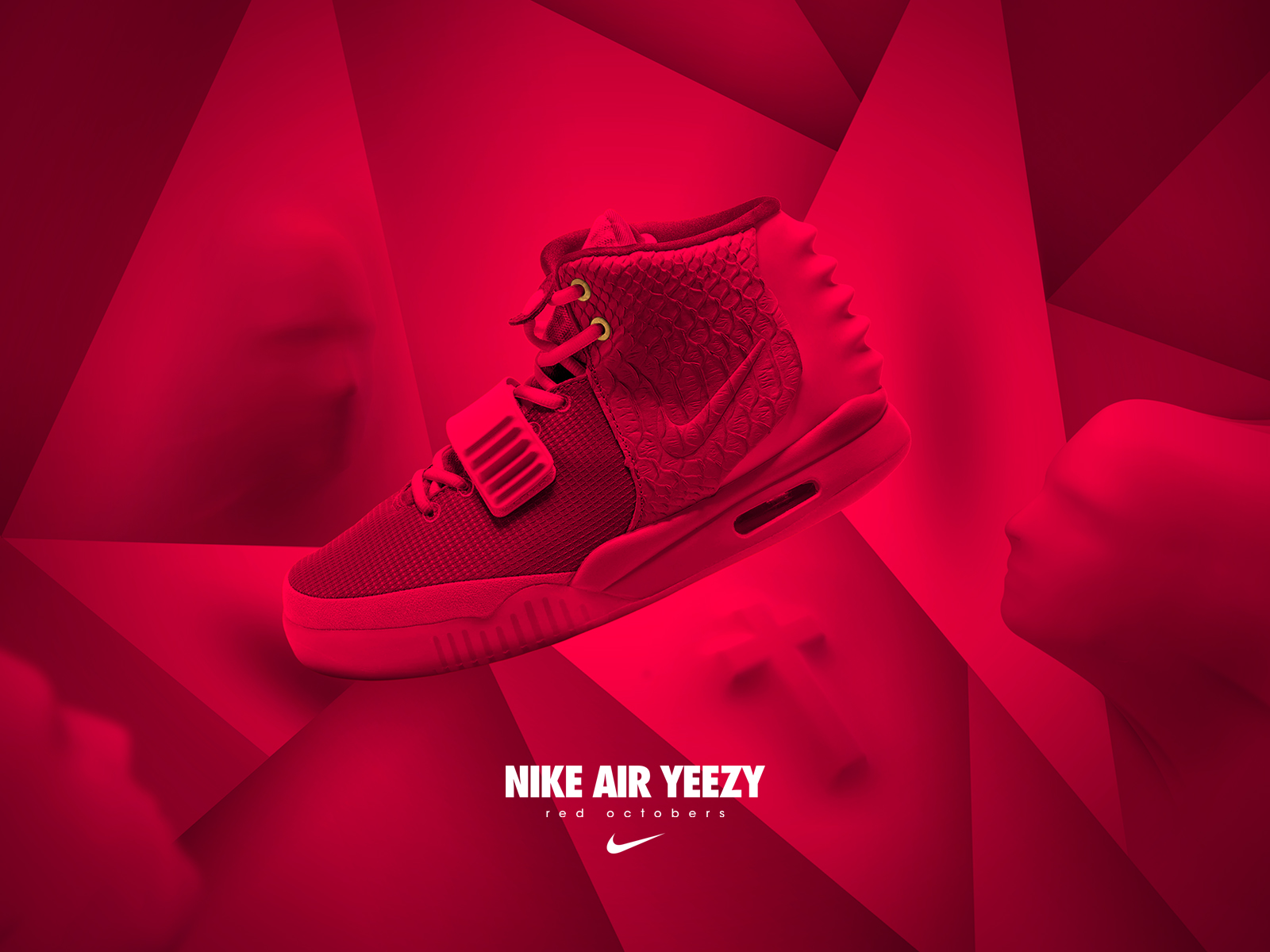 ae74c46d56201 TODAYSHYPE  NIKE AIR YEEZY II X RED OCTOBERS Illustration by Leroy ...