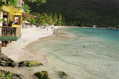 islas virgenes britanicas en el Caribe