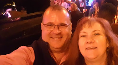 Anniversary selfie at Chicago's Piano Bar