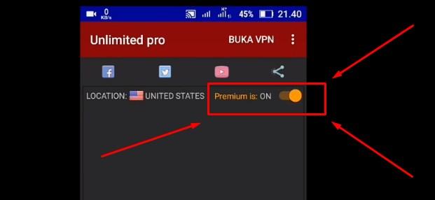 Cara Setting Anonytun Pro terbaru 2019 5