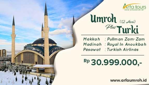Paket Umroh Plus Istanbul 2019 Arfa Tour