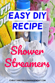 Easy DIY shower steamers recipe without citric acid