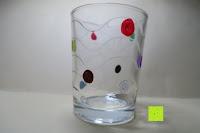 bemaltes Glas: Kreidemarker – 10er Pack neonfarbene Markerstifte. Für Whiteboard, Kreidetafel, Fenster, Tafel, Bistros – 6mm Kugelspitze mit 8 Gramm Tinte