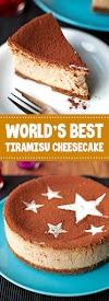World's Best Tiramisu Cheesecake #dessert #tiramisu