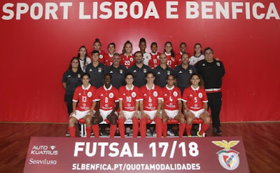 Benfica Modalidades Femininas Futsal