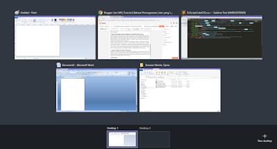 multitasking win10