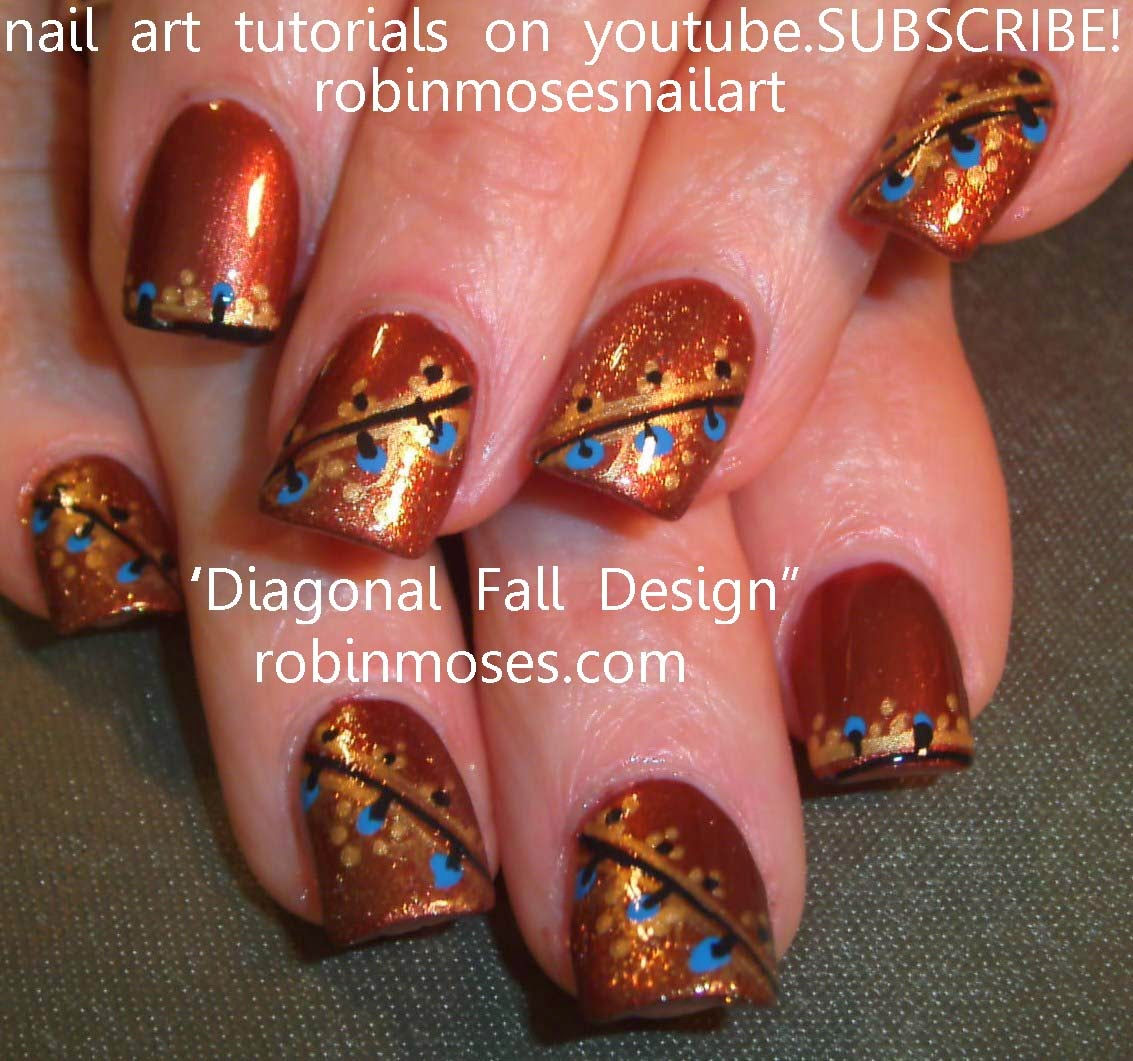 Nail Art By Robin Moses Henna Henna Nail Art No Water Marble