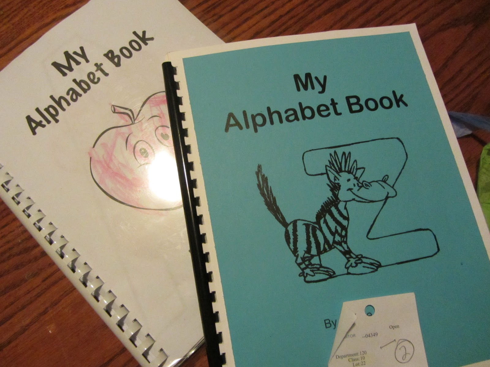 It's just a picture of Printable Alphabet Book with middle school