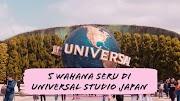 Japan Travel Diaries - Nyobain Lima Wahana Seru di Universal Studio Japan (Day 7)