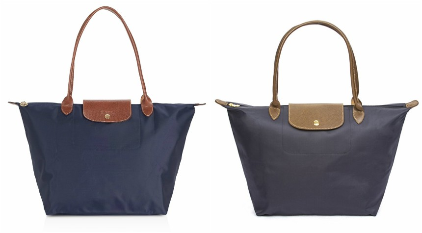 Check out this highly rated Korvara Nylon Tote on Amazon for only $23! Or if you want the real thing, you can pick up this Longchamp Le Pliage Tote for $145 and get a $25 reward card with your purchase!