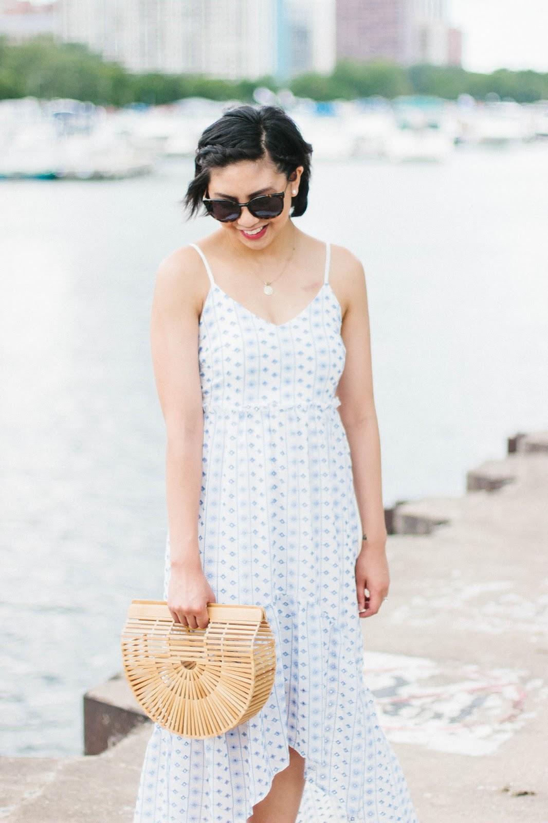 The Best Maxi Dress for Semi-Petite Women
