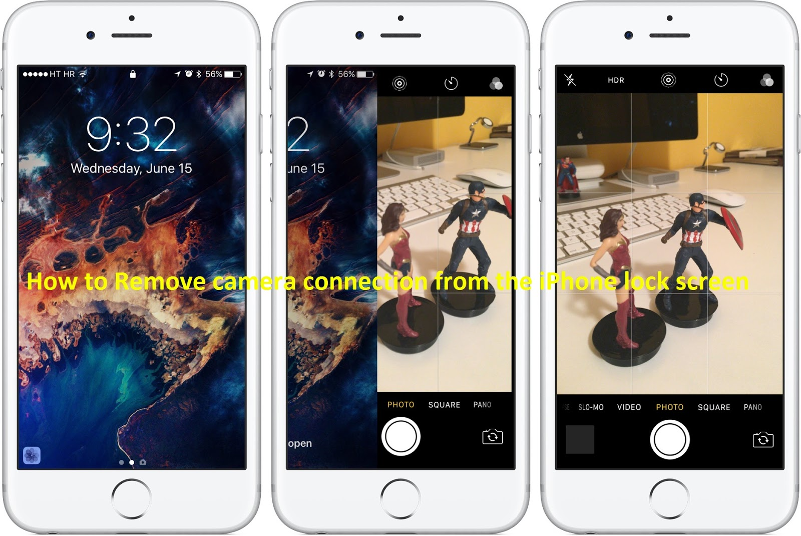 How to Remove camera connection from the iPhone lock screen - Tech
