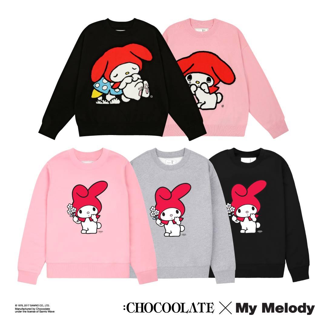 :CHOCOOLATE:My Melody 聯乘系列 12月15日發售 ( Jetso Club 著數俱樂部 )