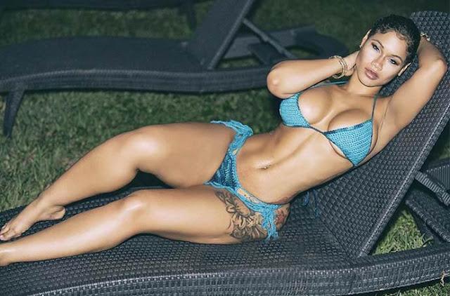 most beautiful black woman sexy swimsuit