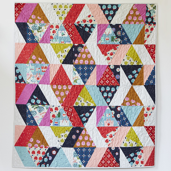 Picnic Quilt designed by Melody Miller of Cotton+Steel Fabrics