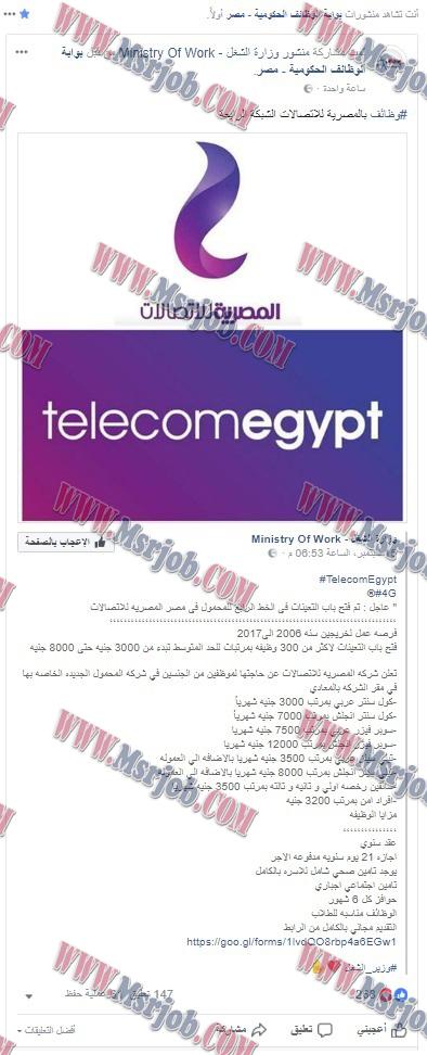 """فضيحة """"بوابة الوظائف الحكومية - مصر"""" تنشر وظائف مزيفه للشباب"""