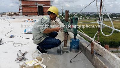 Khoan cắt bê tông tại huyện Gò Công Đông