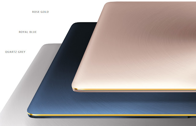 Varian warna ZenBook 3 UX390UA