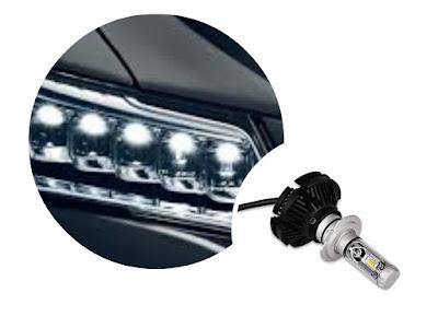 Jenis-Jenis Lampu Depan Mobil