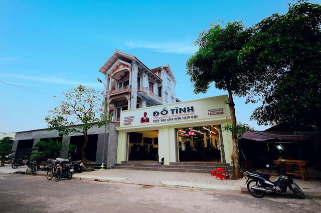 Cửa hàng đồ gỗ mỹ nghệ Đỗ Tĩnh - Làng nghề Hải Minh