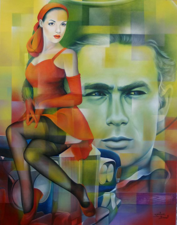Jeanette Guichard Bunel 1957 | French Surrealist painter