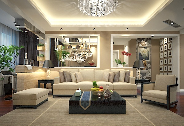 Mix and match the living room model free 3ds max