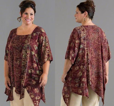 Tips Memilih Model Baju Untuk Anda Yang Gemuk