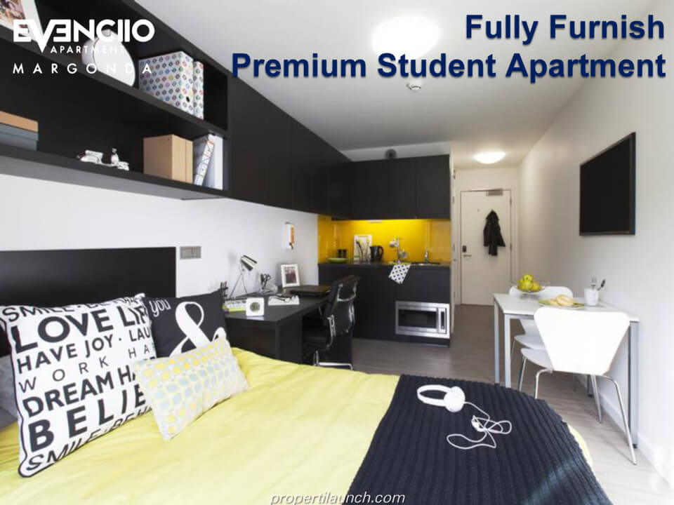 Fully Furnished Evenciio Apartment Margonda Depok