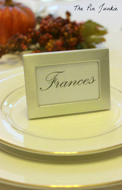 dollar tree framed place card