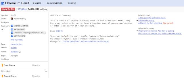 Implementación de Chrome imagen