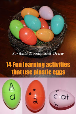 14 fun literacy and math activities that use plastic eggs