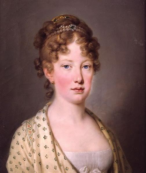 Maria Leopoldina by Joseph Kreutzinger, 1815
