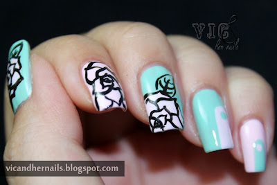 Vic And Her Nails Crumpet S Nail Tarts 33 Dc Day 10 Flowers