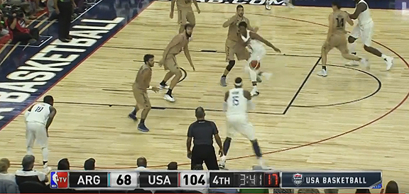 USA vs. Argentina - Exhibition Game Full Highlights (VIDEO)