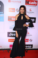 Red Carpet of Most Stylish Awards 2017 ~ Deepika Padukone in Black Gown (1).JPG