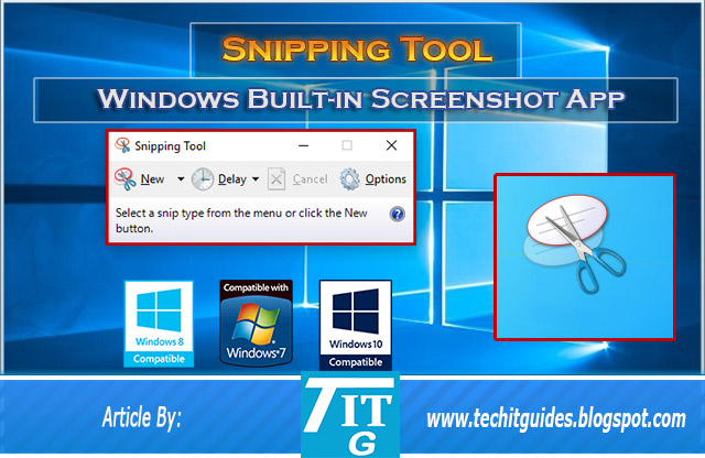 Built-in-Snipping-Tool-Take-Screenshots-in-Windows-10